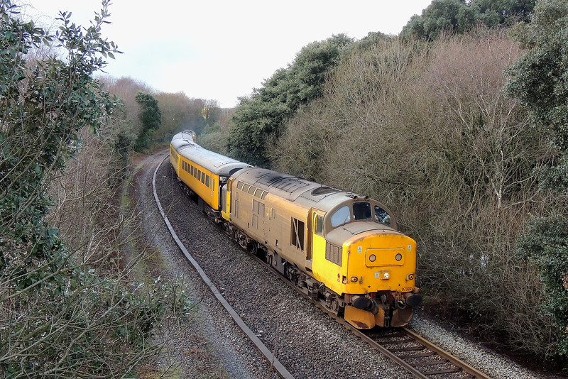 97302 Top and Tails 97304 1Q05 Alexandra Dock Junction to Landore at Jersey Marine 17/01/15.