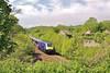 43122 + 43034 1L66 1322 Swansea to London Paddington  at Llangewydd Farm 23/5/15.