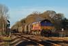 66115 6H25 Margam to Llanwern at Coychurch 29/12/15.