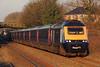43071 & 43021 1L38 07:58 Swansea to London Paddington at Pyle 07/02/15.