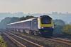 43063 & 43025 1B10 07:45 London Paddington to Swansea at Pontsarn 19/9/15.