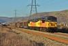 56105 & 56078 Baglan to Chirk at Margam 26/02/15.