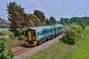 158837 1E16 Cardiff Central to Milford Haven at Pembrey 5/6/16.