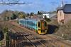 158819 2E03 06:59 Pembroke Dock to Cardiff Central near Pencoed 5/3/16.
