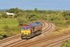 66161 0M03 Margam to Robeston at Llandeilo Junction 30/8/16.