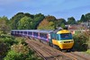 43002 & 43191 1L52 10:44 Port Talbot Parkway to London Paddington near Pencoed 22/10/16.