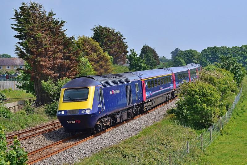 43186 & 430331B20 09:33 London Paddington to Carmarthen at Pembrey 5/6/16.