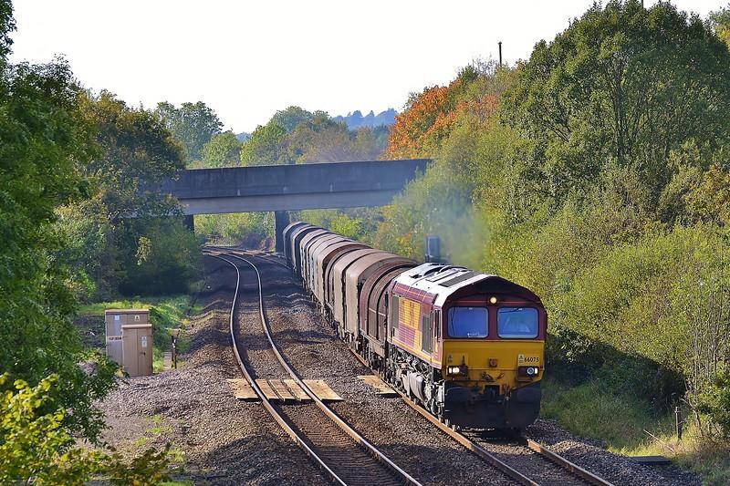 66075 6H27 Margam to Llanwern near Pencoed 22/10/16.