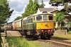 D6575 (33057) 2L54 10:20 Cheltenham Racecourse to Laverton at Gotherington 30/7/16.