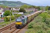 68016 'Fearless' top and tail with 68017 'Hornet' 5Z30 Llandeilo Junction to Carmarthen at Pembrey & Burry Port 21/5/16.