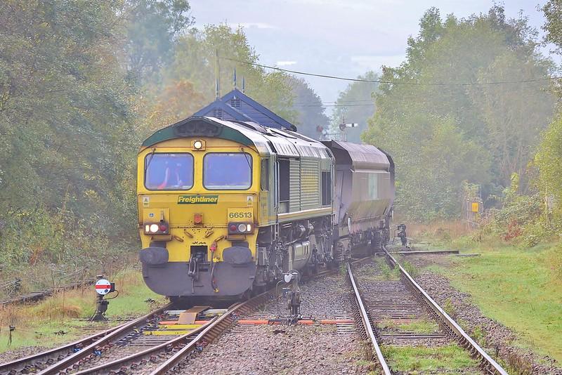 66513 4G05 Aberthaw to Gwaun-Cae-Gurwen at Pantyffynnon 14/10/16.
