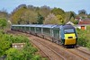 43194 & 43170 1L48 09:29 Swansea to London Paddington near Pencoed 15/4/17.