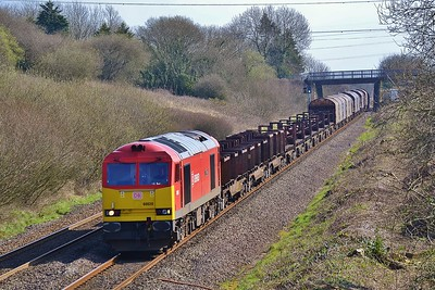 60020 6H24 Llanwern to Margam at Stormy 24/3/17.