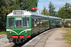 Class 108 DMU arriving at Lydney Junction with the 10:15 from Norchard 16/9/17.