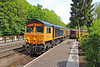 66726 09:35 Bridgnorth to Kidderminster at Highley 18/5/18.