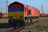 66066 at Margam Yard 24/02/18.