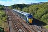 800021 1L82 1458 Carmarthen to Paddington at Llandeilo Junction 23/9/18.