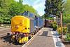 37688 09:35 Bridgnorth to Kidderminster at Highley 17/5/18.