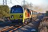 70815 6C23 1158H Hinksey Sidings to Morlais Junction at Margam 18/11/18.