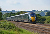 800014 & 800035 1B10 0745 Paddington to Swansea at Pontsarn 21/7/18.