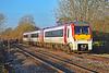 175107 2G62 1415 Maesteg to Cheltenham Spa at Pontsarn 17/11/18.