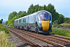 800010 1L82 1458 Carmarthen to Paddington at Loughor 22/7/18.