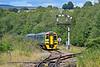158833 2G62 1415 Maesteg to Cheltenham Spa at Tondu 4/8/18.