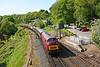 D821 09:10 Kidderminster to Bridgnorth at Highley 17/5/18.
