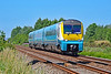 175112 1W14 1125 Milford Haven to Manchester Piccadilly at Loughor 8/7/18.