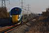 800008 & 800014 1B40 1345 London Paddington to Swansea at Margam 24/02/18.