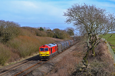 60091 6H36 East Usk to Margam at Stormy 10/3/18.