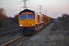 66760 6V32 1030 Tilbury I.R.F.T (Gbrf) to Trostre Works at Margam 24/02/18.