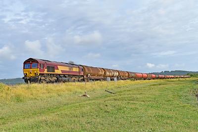 66176 6B41 1115 Westerleigh Murco to Robeston Sidings near Kidwelly 26/7/19.