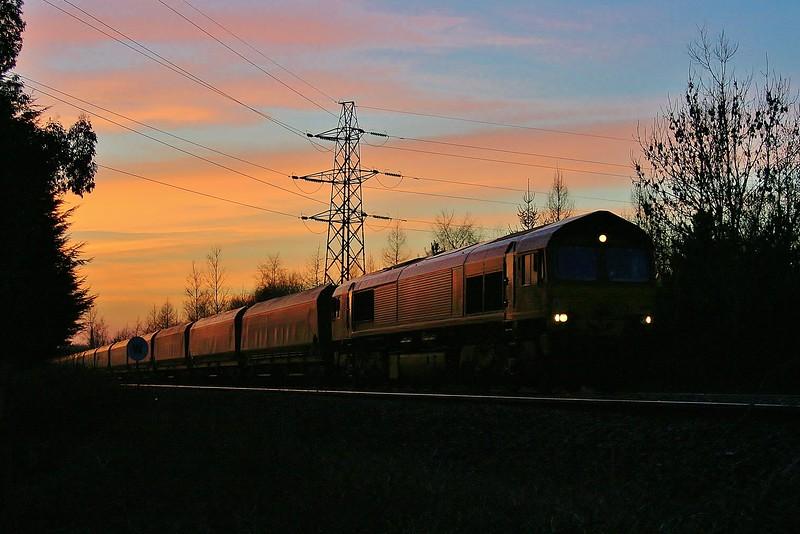 66113 at Coychurch 30/01/2011.