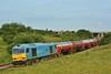 60074 Teenage Spirit at Water Street Junction with 6B13 Robeston to Westerleigh Murco tanks 24/06/2011.