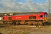 59206 at Margam Yard 27/02/2011.