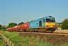 60074 Teenage Spirit 6B13 Robeston to Westerleigh Murco tanks at Llangennech 27/06/2011.