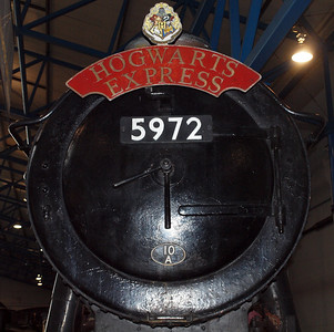 Up-close and personal with film star 5972 Hogwarts Castle. Note the 10A Carnforth shedplate, as seen in the films!