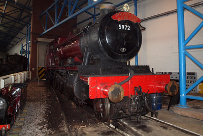 5972 Hogwarts Castle, on loan from WCR Carnforth.