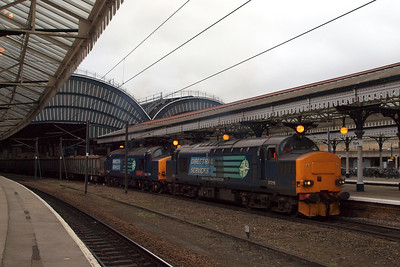 With lots of noise and thrash, the 37 pair in multi depart York. 05/03/11.