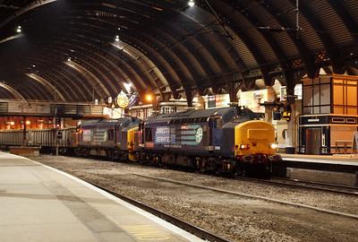 37610 and 37218 at York. 02/03/11.