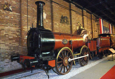 Furness Railway no. 3, Coppernob, in the NRM.