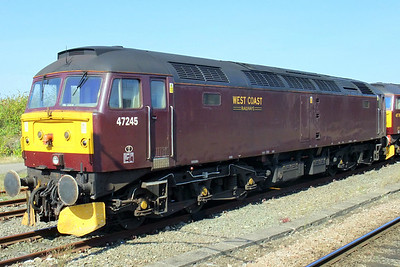 47245 in York Parcels Sidings.