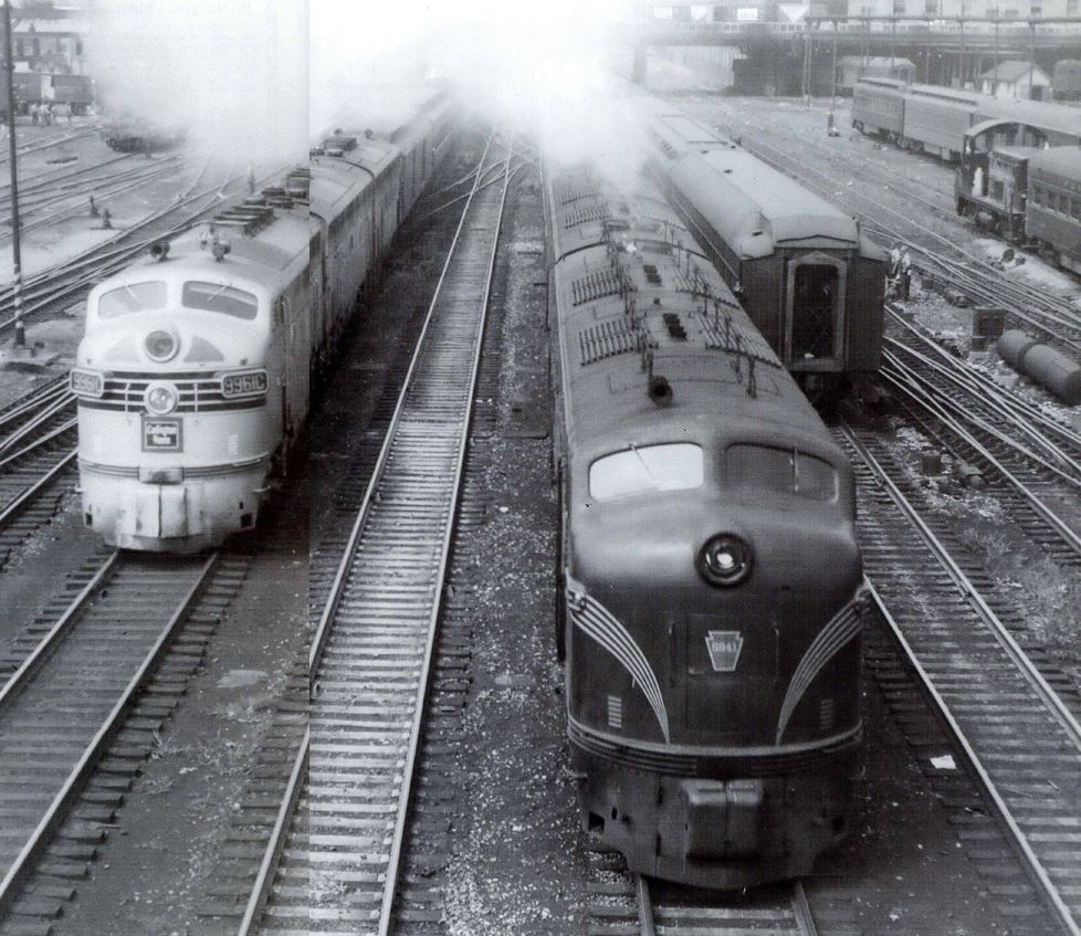 Transcontinental Passenger Trains (1948)