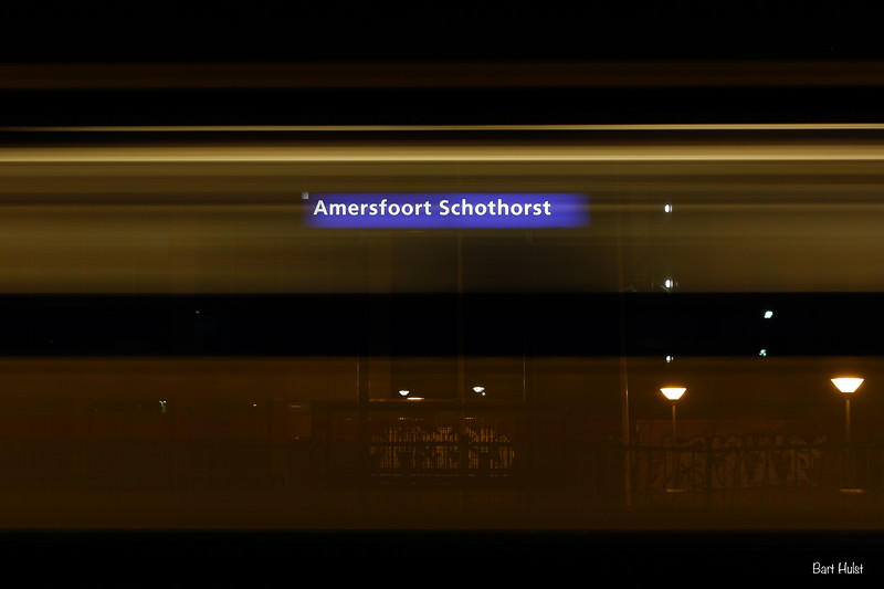 Trains at Station Schothorst, take 1