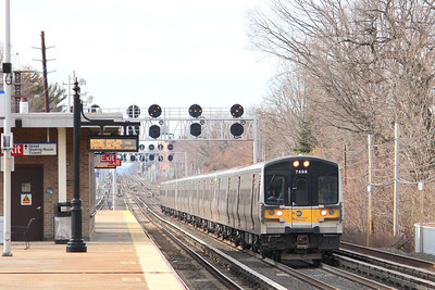 LIRR express passing Bellerose