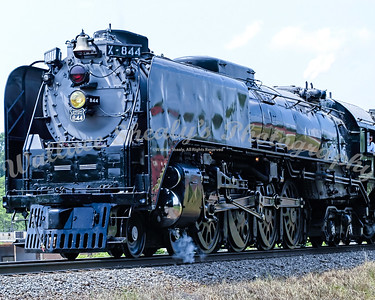 UP844 Challenger Steam - Marshall Yard
