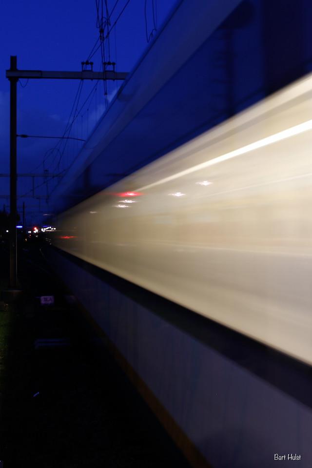 Trains at Station Schothorst, take 1
