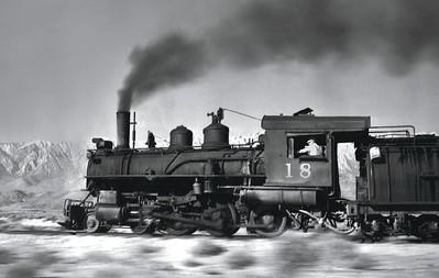 1911 Baldwin Three-Foot-Gauge 4-6-0 No. 18