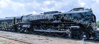UP844 Challenger Steam - Marshall Yard